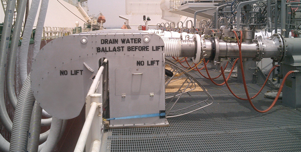 LNG fall arrest system